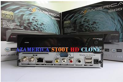 ATUALIZAÇÃO DE RECEPTOR CLONE AZAMERICA-S1001-HD-CLONE-BY-AZ-TUDO