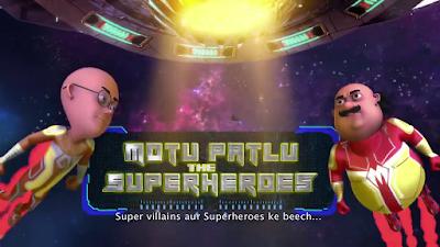 Motu Patlu the Superheroes – Super Villains from Mars 2019 Hindi 720p HDTV 600MB