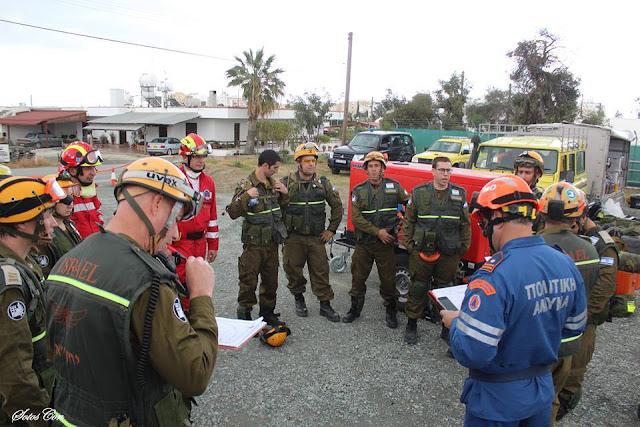 """Στην άσκηση αντιμετώπισης σεισμού """"Unified Response 2017"""" συμμετείχε η Ελληνική Ομάδα Διάσωσης παραρτήματος Αργολίδας"""