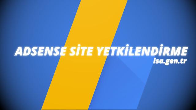 adsense site yetkilendirme