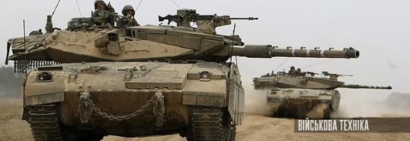 фото ізраїльських основних бойових танків Merkava, מרכבה