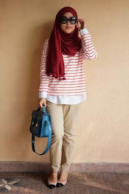 hijab tutorial kampus
