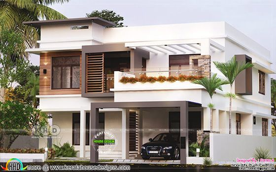 25 lakhs, contemporary style residence