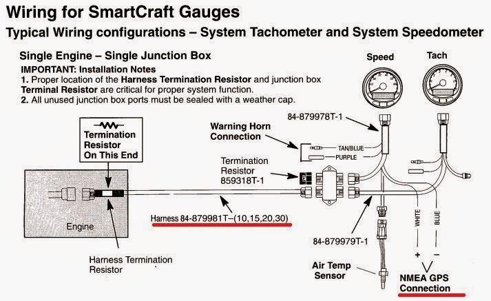 MERCURY SMARTCRAFT SC1000 SYSTEM MONITOR MANUAL