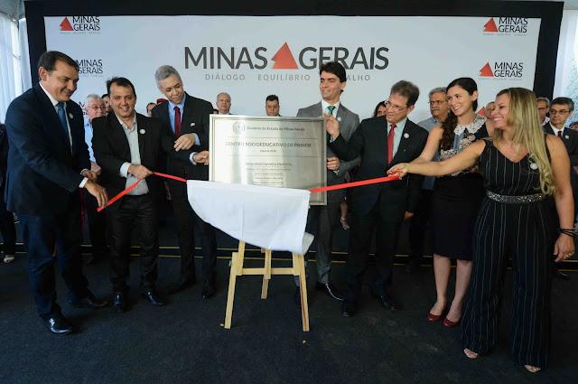 Minas Gerais inaugura primeiro Centro Socioeducativo em Passo, MG - Fotos: Gil Leonardi/Imprensa MG