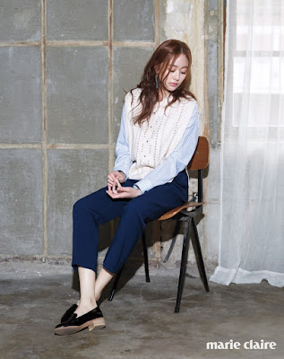 Kim Hyo Jin - Marie Claire February 2016