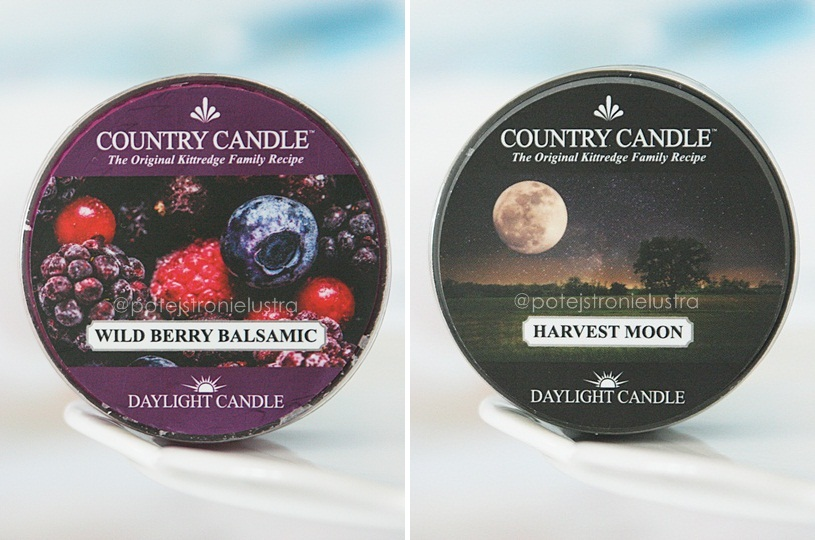 country candle wild berry balsamic i harvest moon