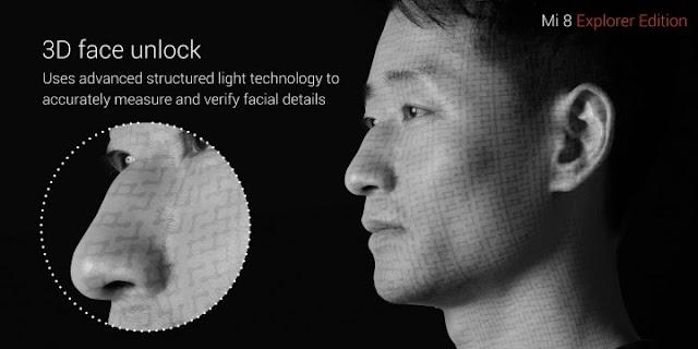Resmi! Xiaomi Mi 8 Explorer Edition dengan Pengenalan Wajah 3D