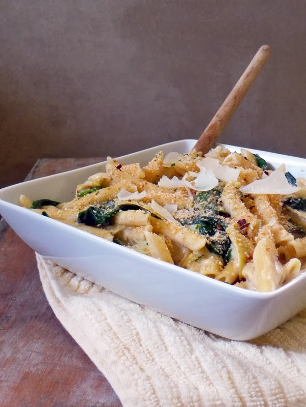 Spinach Artichoke Pasta   by Life Tastes Good   If you LOVE spinach artichoke dip, you are going to LOVE this pasta recipe!!