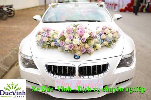 Cho thuê xe cưới BMW M6 tại Hà Nội đẹp
