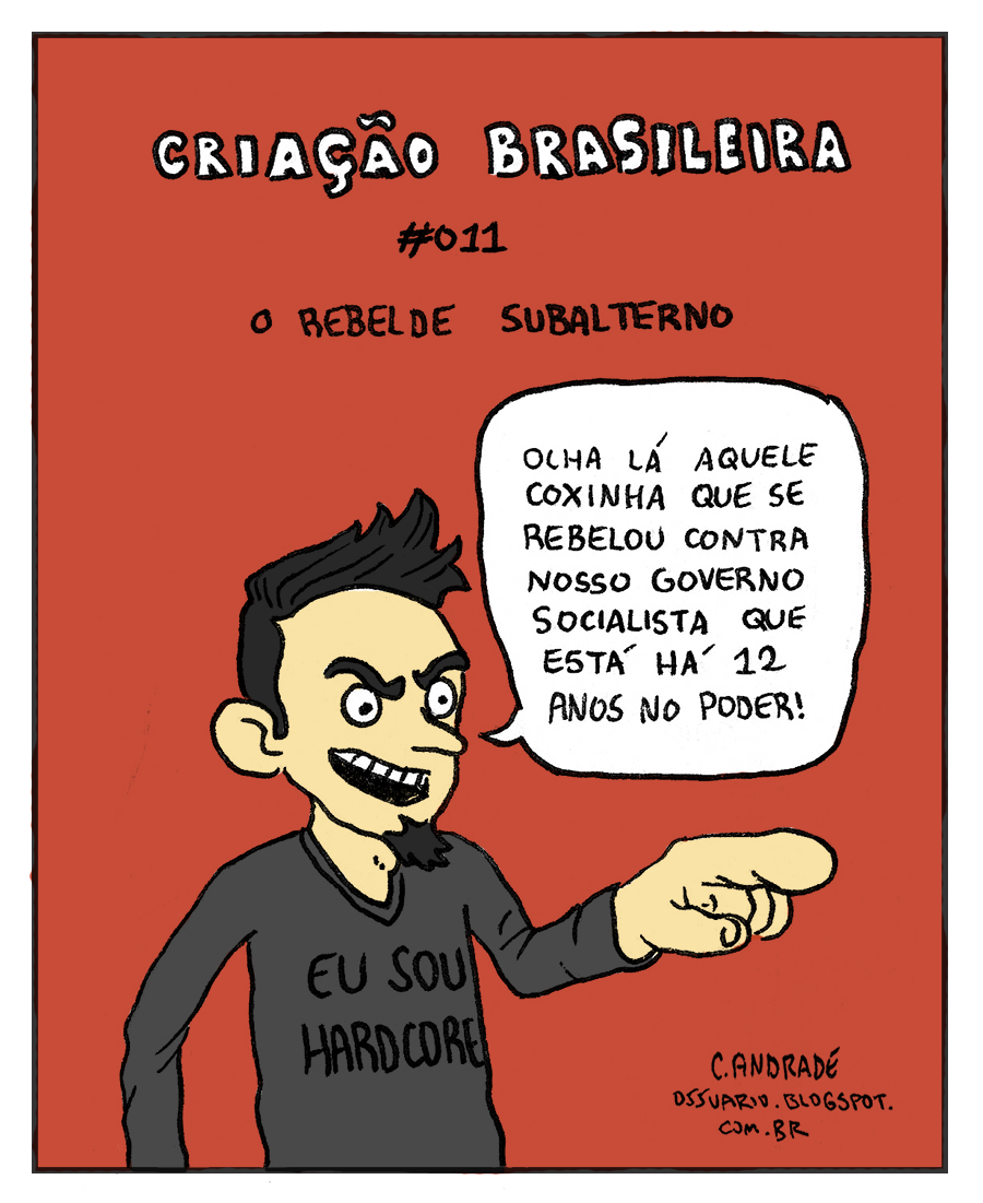 Charge do Chapa-Branca - por Cesar Andrade
