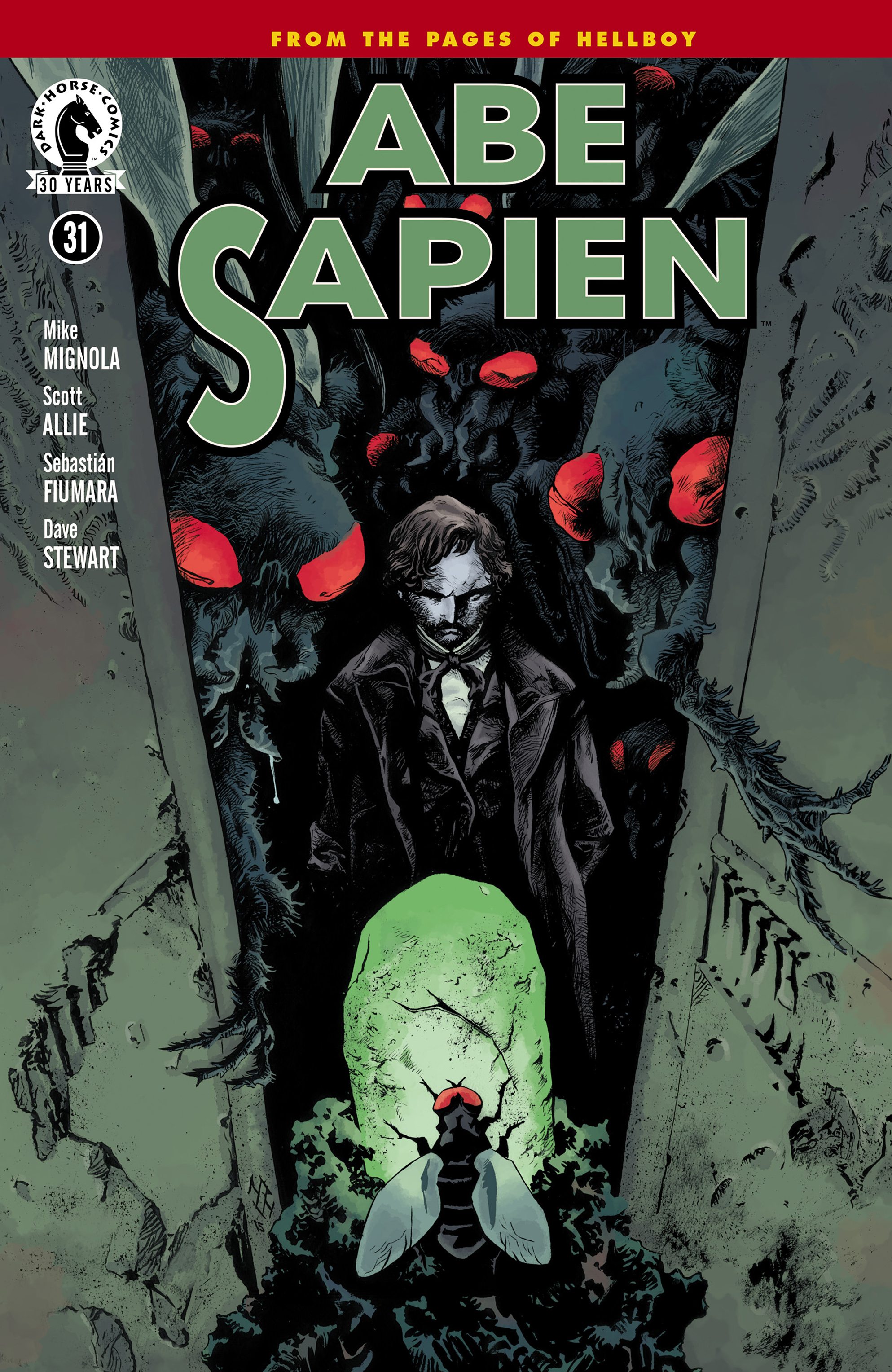 Read online Abe Sapien comic -  Issue #31 - 1