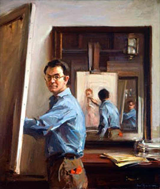 Everett Raymond Kinstler, International Art Gallery, Self Portrait, Art Gallery, Portraits Of Painters, Fine arts, Self-Portraits