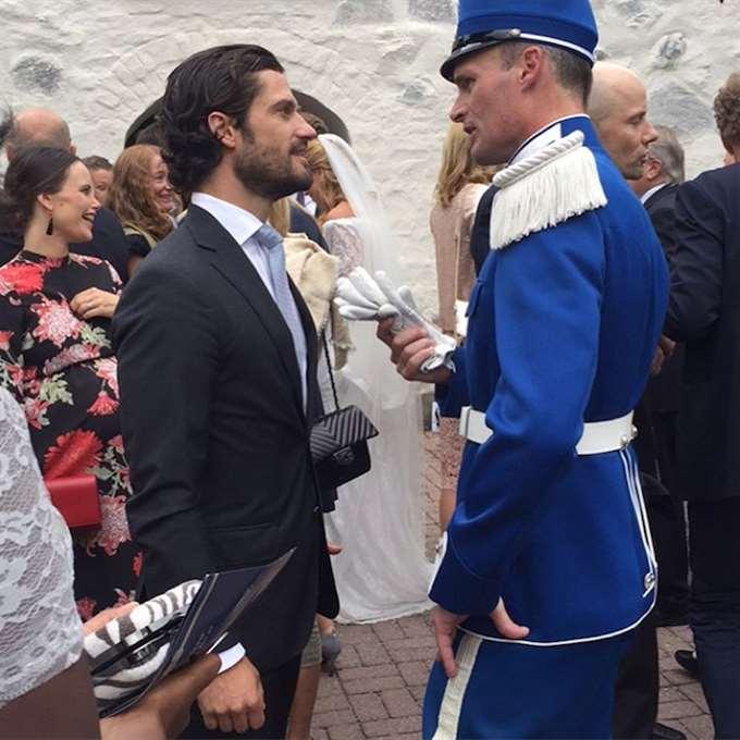 Шведы на свадьбе
