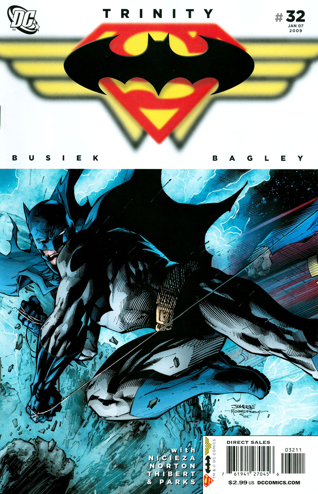 Read online Trinity (2008) comic -  Issue #32 - 1