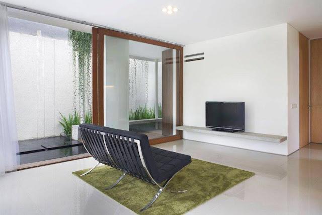 ruang tv yang sederhana