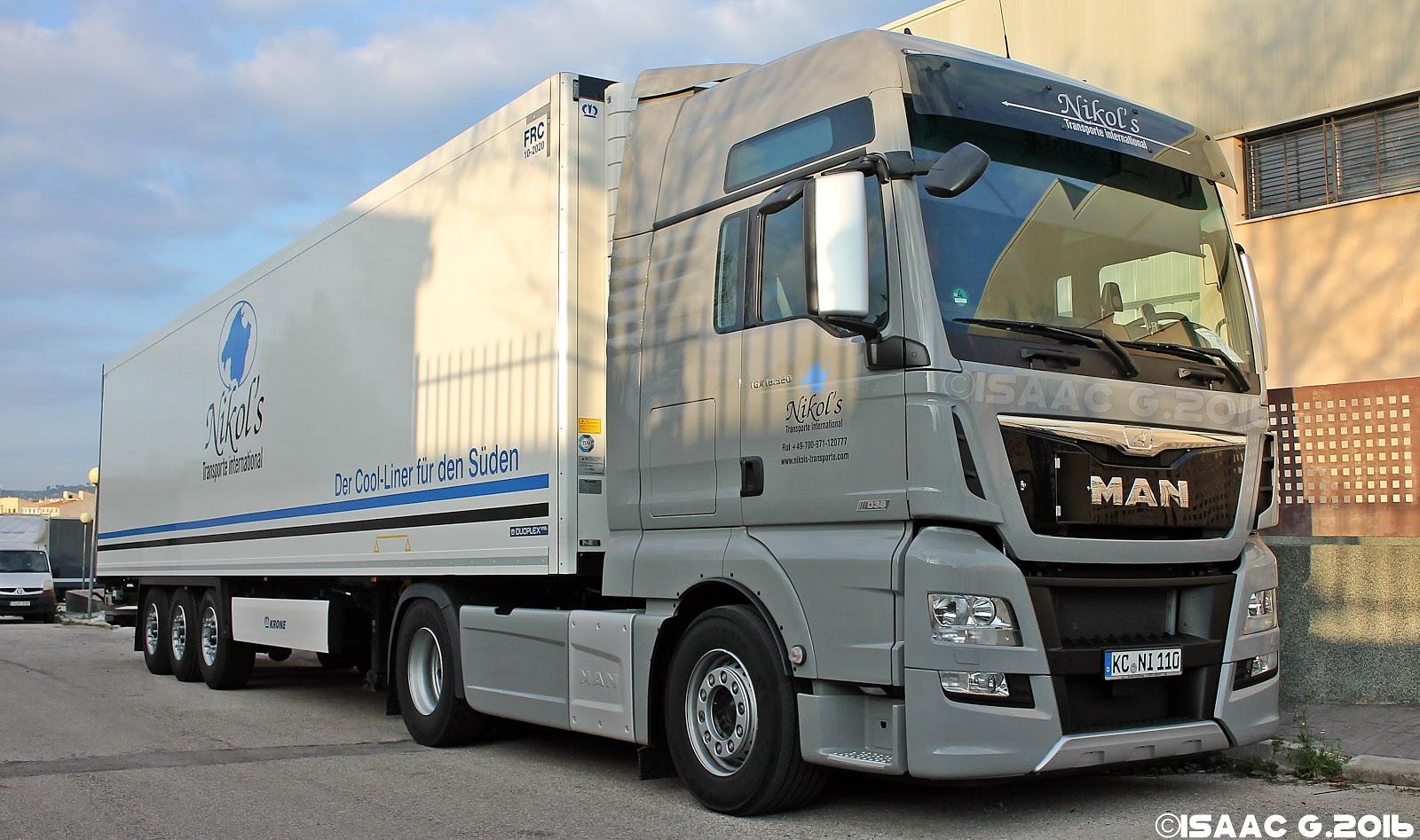 Camiones y autobuses en baleares man tgx ii - Transporte islas baleares ...