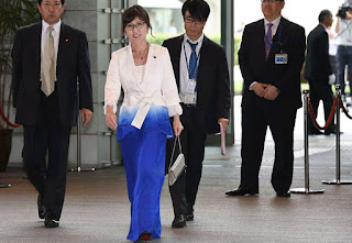 Japanese Defense Minister Tomomi Inada