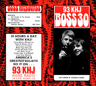 KHJ Boss 30 No. 125 - Robert W. Morgan with Davy Jones