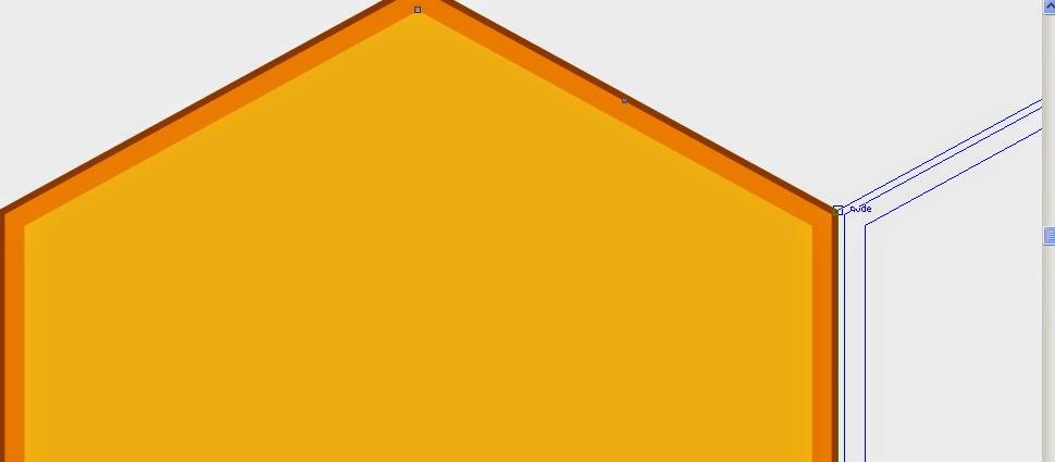 efek emas corel draw