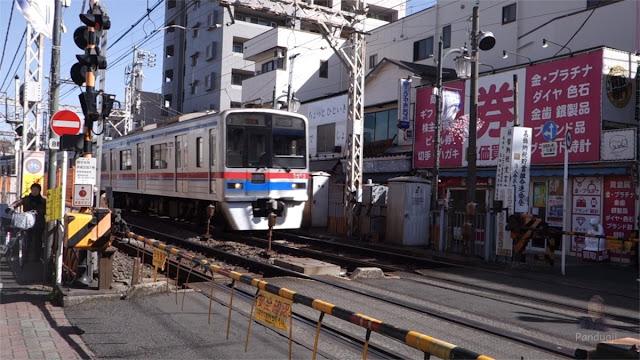 Persimpangan Kereta di Jepang