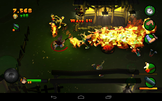 Burn Zombie Burn mod apk