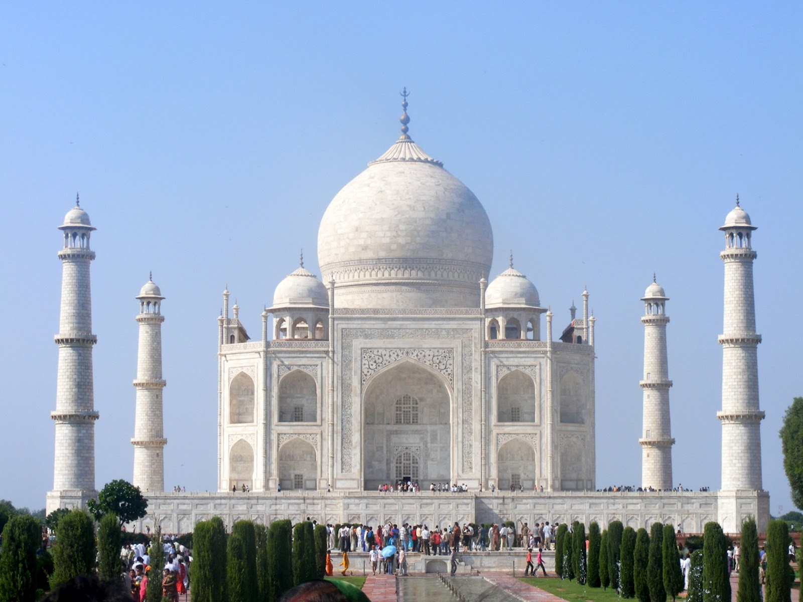Taj Mahal Of India HD Wallpaper