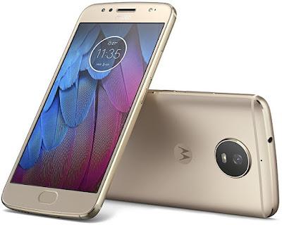 Motorola Moto G5s oro