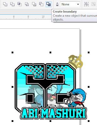 Cara Membuat Pola Cutting Stiker Dengan Corel Draw