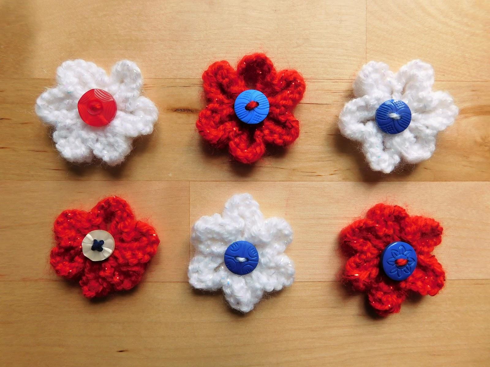 Mariannas lazy daisy days knitted summer flowers knitted summer flowers izmirmasajfo