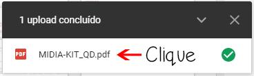 Clique no nome do arquivo