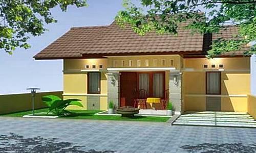 Contoh Gambar Desain Rumah Minimalis 1 Lantai Terbaru