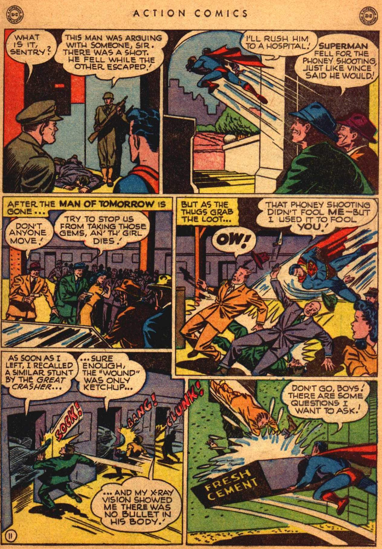 Read online Action Comics (1938) comic -  Issue #108 - 12