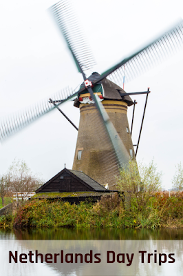 Travel the World: Netherlands day trips to Haarlem, Kinderdijk, Gouda, Delft, and The Hague.  These day trips can be taken from Amsterdam or Rotterdam.