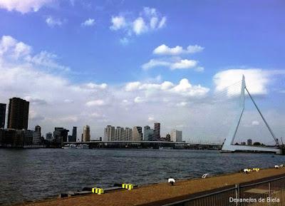 Dicas de roteiro por Rotterdam - Erasmusbrug