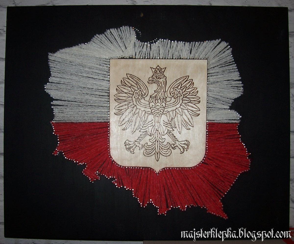 Góra Majsterklepka: 160. Konturowa mapa Polski NV34