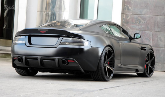 The Blackout Vibe Freshness Aston Martin Dbs Superior Black