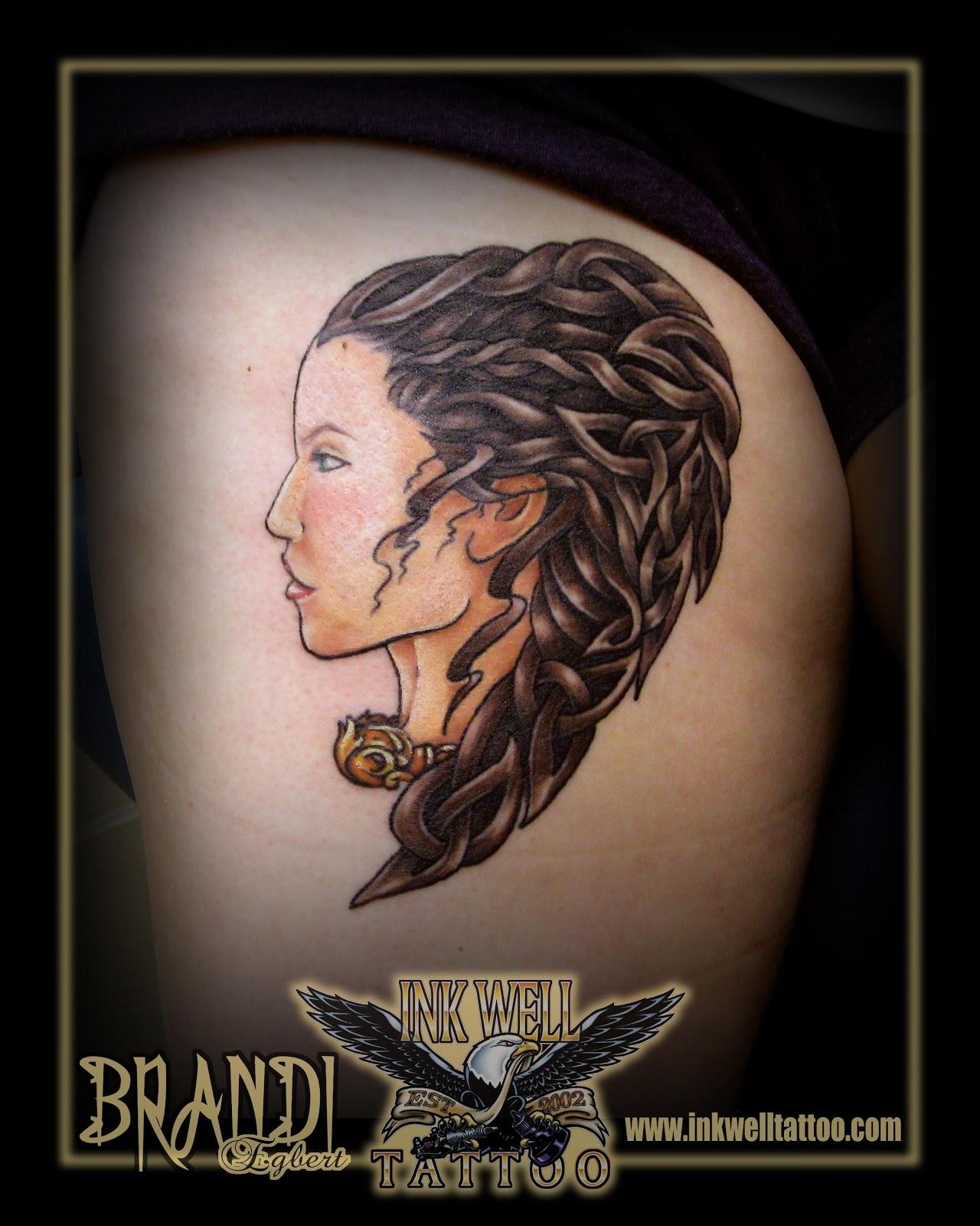 Scottish Warrior Tattoos: Brandi Egbert (Ink Well Tattoo