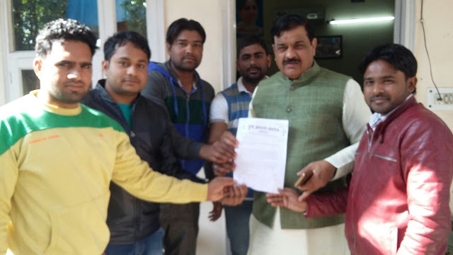 Memorandum for Yuva Aagaj Students, for Mulchand Sharma and Techchand Sharma
