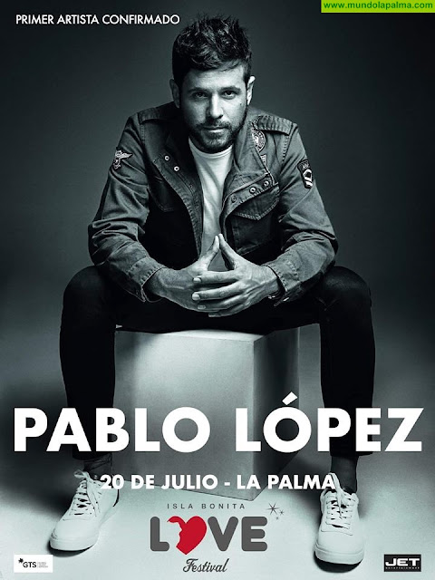 Pablo López actuará el próximo 20 de Julio en el Love Festival 2019
