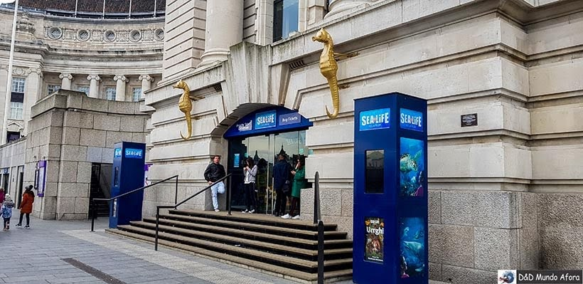 Sea Life - Ingressos combinado com London Eye