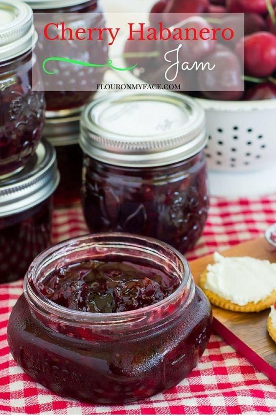 How To Make Cherry Habanero Jam