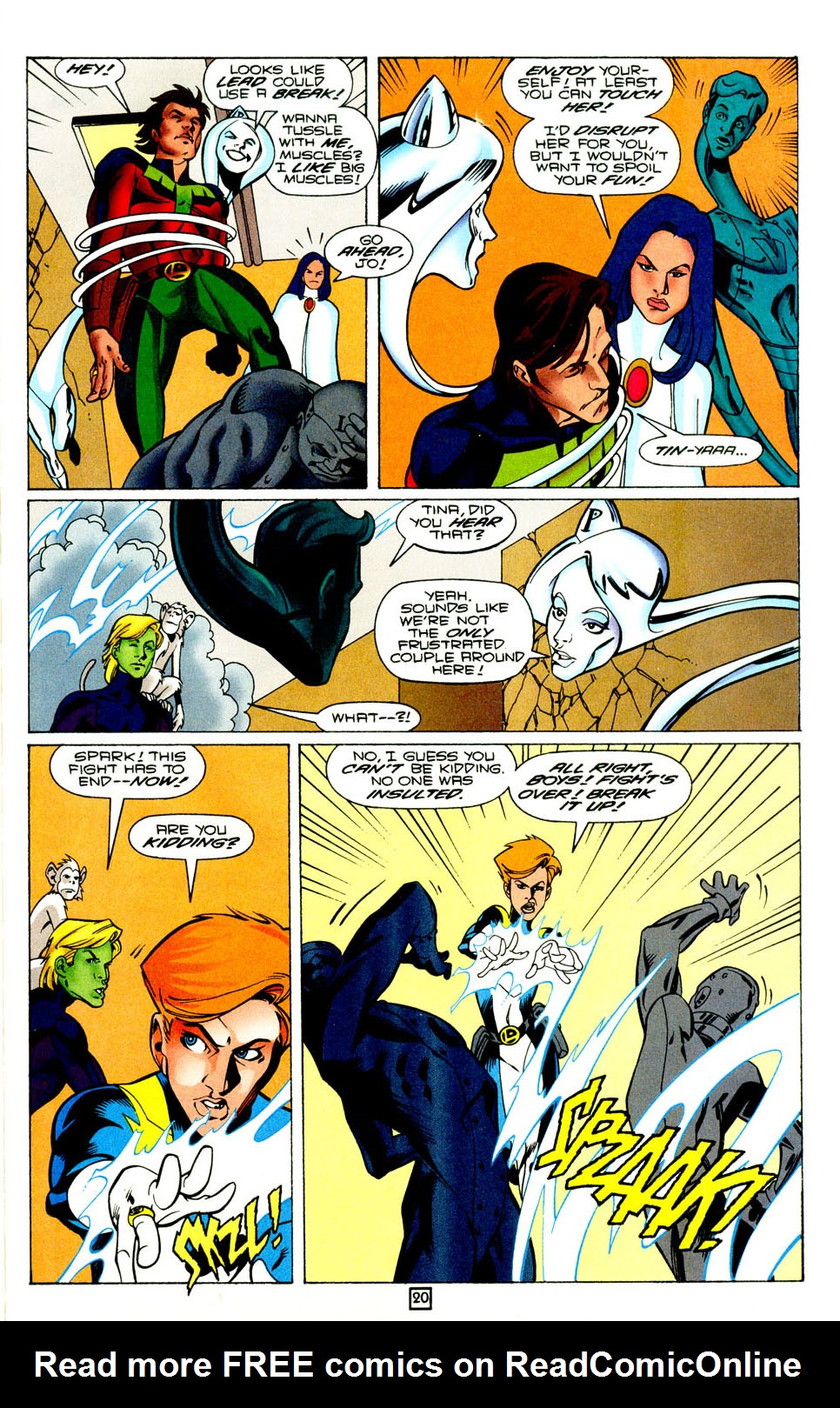 Legion of Super-Heroes (1989) 95 Page 20