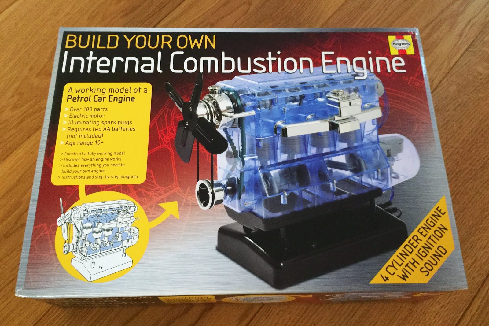 Build Your Own Internal Combustion Engine made by Haynes
