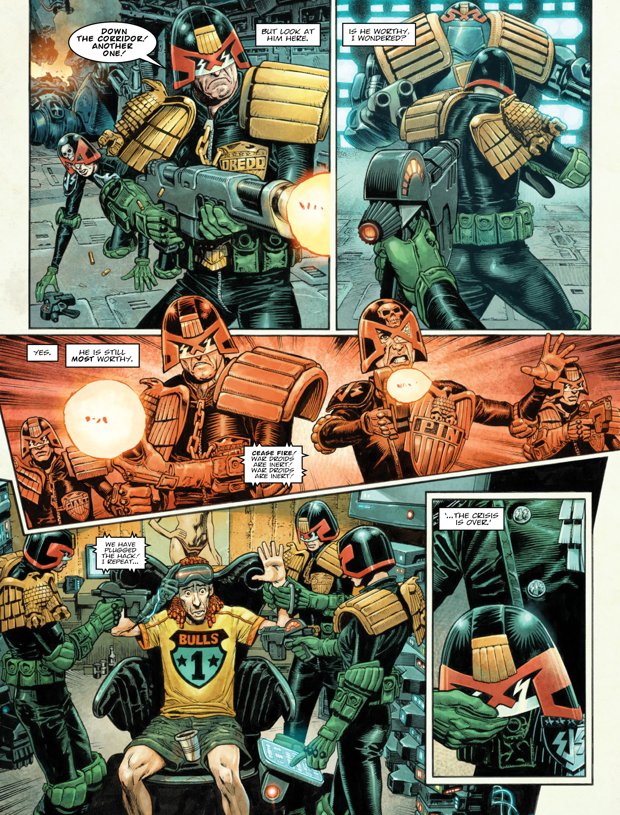 Read online 2000 AD comic -  Issue #2036 - 7