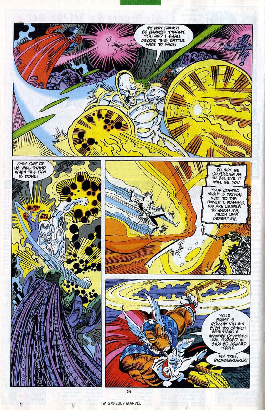 Read online Silver Surfer (1987) comic -  Issue #82 - 26
