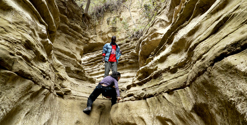 Surreal hiking in Hell's Gate National Park