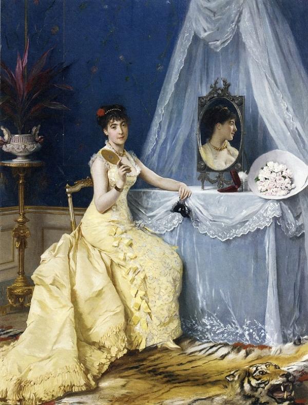 Gustave Léonard de Jonghe Туалет