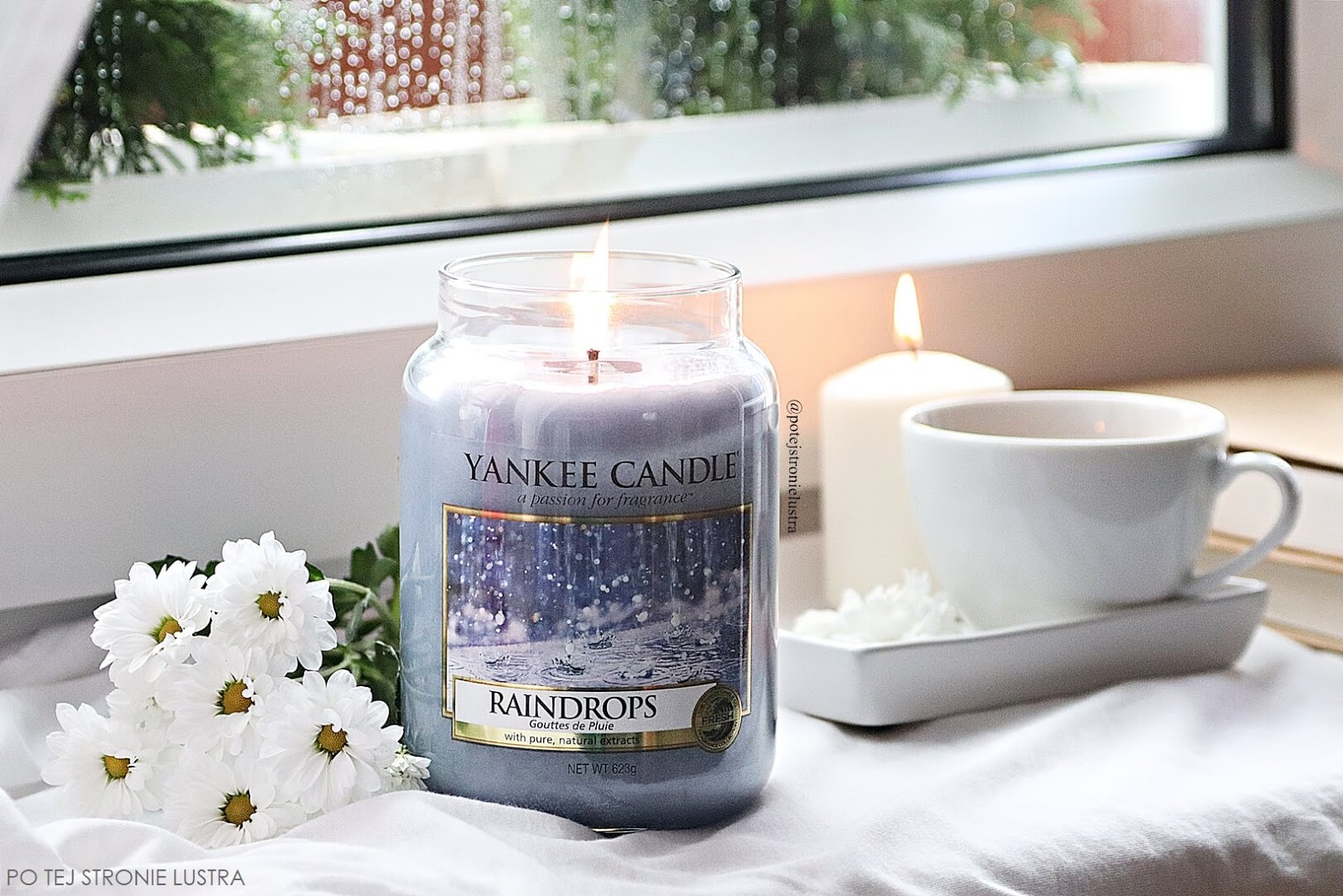 yankee candle raindrops świeca