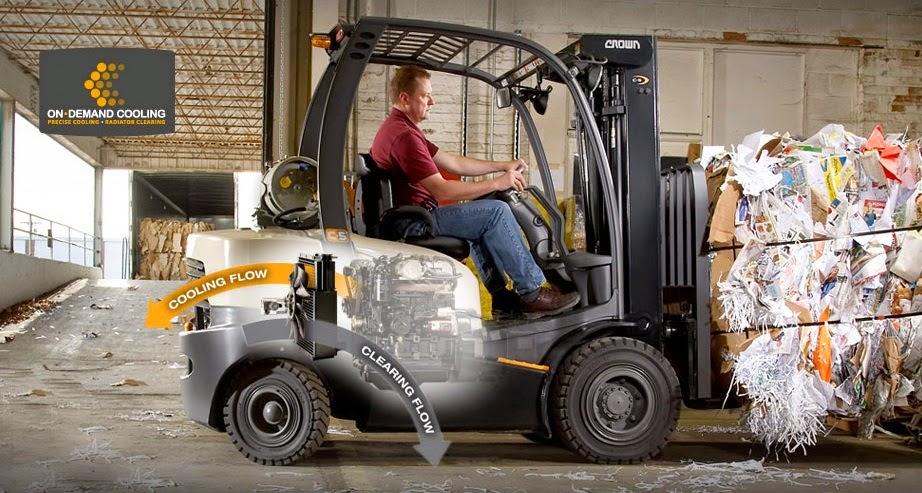 Crown Diesel LPG Forklift